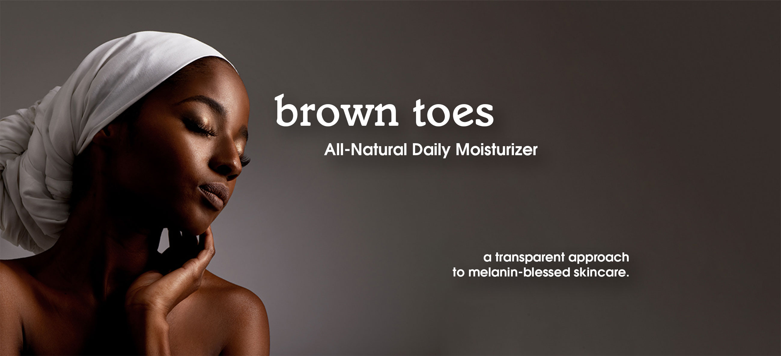 brown toes all-natural daily moisturizer